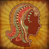 grunge zodiac - virgo