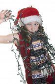 Big mess decorating for Christmas
