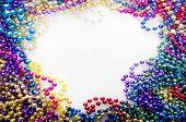 mardi gras beads for decoration