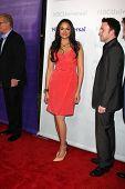 LOS ANGELES - 6 de JAN: Karen Olivo llega a la NBC Universal All-Star invierno TCA fiesta en Atenas el