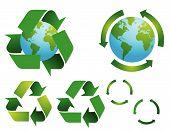 Постер, плакат: Символы сохранения окружающей среды