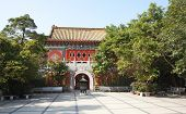 Po Lin monastery on Lantau Island (Hong Kong)