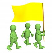 Group Of The Puppets, Going With A Yellow Flag