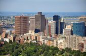 Boston Skyline, Massachusetts, EUA