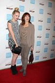 LOS ANGELES - OCT 26:  Francesca Eastwood, Frances Fisher arrives at the 41st Annual Peace Over Viol