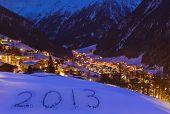 2013 On Snow At Mountains - Solden Austria