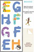 picture of g-spot  - Learn with fun letters of English alphabet - JPG