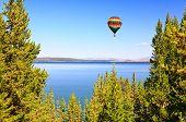 The Yellowstone Lake In The Yellowstone
