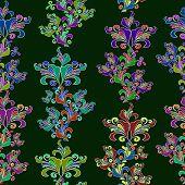 Elemento gráfico. Floral textura perfeita.