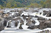 Great Falls National Park op Potomac River in Virginia Verenigde Staten