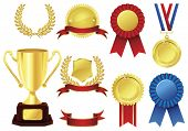 image of award-winning  - Awards icon set - JPG