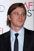 LOS ANGELES - NOV 3:  Garrett Hedlund arrives at the AFI Film Festival 2012