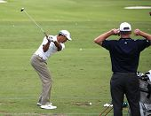 Tiger Woods at The Players Championship 2012