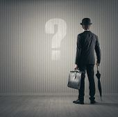 Businessman And Questions