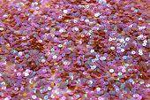 Lentejuelas rosa