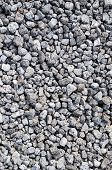 image of scoria  - Close up of gray gravel background texture - JPG