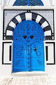 Ornamental Blue Door.