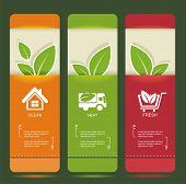 Bio Concept Design Eco  Banners