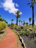 stock photo of parador  - Parador en San Sebastian de la Gomera Canary Islands Spain - JPG