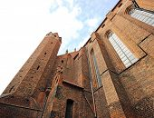 Castle of the Teutonic Knights in Gniewie