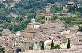 pic of chopin  - A View of Valldemossa in Mallorca Spain  - JPG
