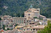 A View Of Valldemossa In Mallorca, Spain