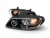 Two Headlight Car