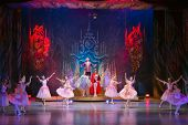 MOSCOW - DEC 30: New Years performance The Nutcracker and the Mouse King at the Cultural Center ZIL,