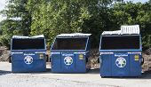 dumpsters used for recycling