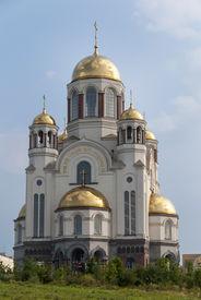 stock photo of ekaterinburg  - Khram na krovi  - JPG