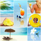 Collage Tropical Beach