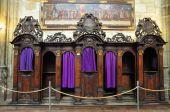 Confessional Church Saint Vitus Cathedral In Prague