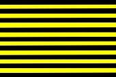 Yellow And Black Warning Sign