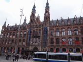 Magna Plaza in Amsterdam, the Netherlands