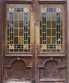 Old Window Door