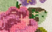 Cross-stitch Made ??with Colored Threads For Embroidery - Muline