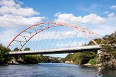 An Arch Bridge Over Waikato River