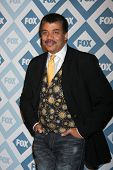 LOS ANGELES - Jan 13:  Neil deGrasse Tyson at the  FOX TCA Winter 2014 Party at The Langham Huntingt