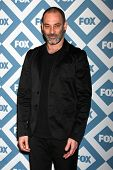 LOS ANGELES - Jan 13:  Ashraf Barhom at the  FOX TCA Winter 2014 Party at The Langham Huntington Hot