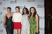 LOS ANGELES - JAN 17:  Bellamy Young, Darby Stanchfield, Kerry Washington, Katie Lowes at the ABC TC