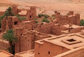 Ait Ben Haddou Medieval Kasbah, UNESCO site.