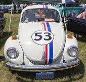 1971 Herbie The Love Bug Beetle Front View