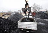 coal truck transport