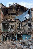 Housebreaking, Demolition Of Buiding