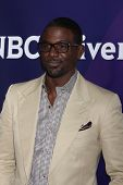 LOS ANGELES - JAN 19:  Lance Gross at the NBC TCA Winter 2014 Press Tour at Langham Huntington Hotel