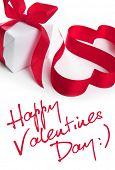 Stylized valentine hearts