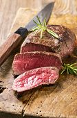 picture of ribeye steak  - steak - JPG