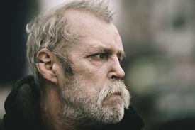 image of scourge  -  homeless man - JPG