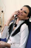 Beautiful Girl On The Phone