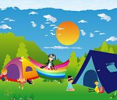 for camping,